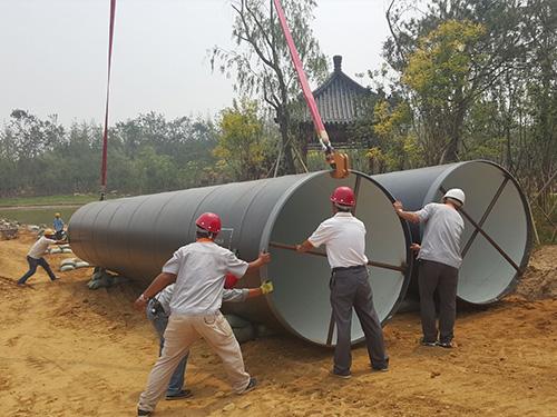 秦皇daokai发区引青供水工程